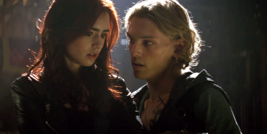 Lily Collins Jamie Campbell Bower Clary Fray Jace Wayland The Mortal Instruments City of Bones TMI 2